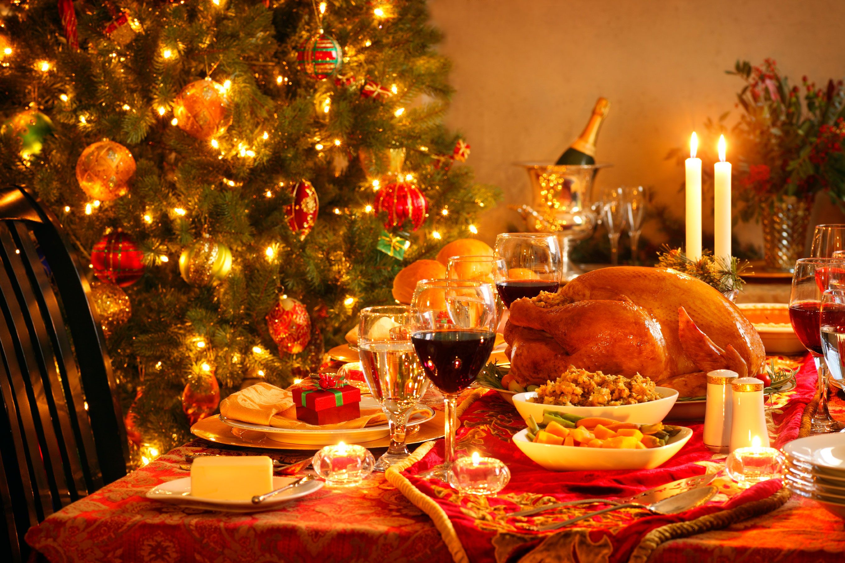 Traditional Christmas Dinner Table Google Search Christmas