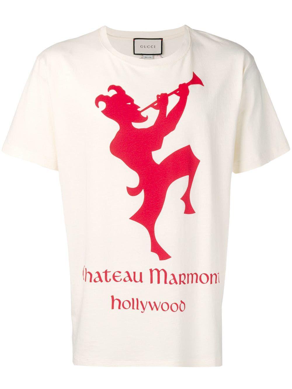 75102066b GUCCI MEN'S CHATEAU MARMONT T-SHIRT. #gucci #cloth | Gucci in 2019 ...