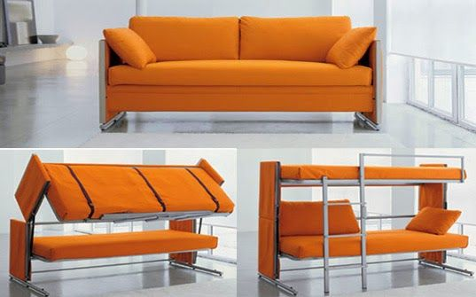 Smart Furniture Griya Inspiratif Cool Couches Couch Bunk Beds