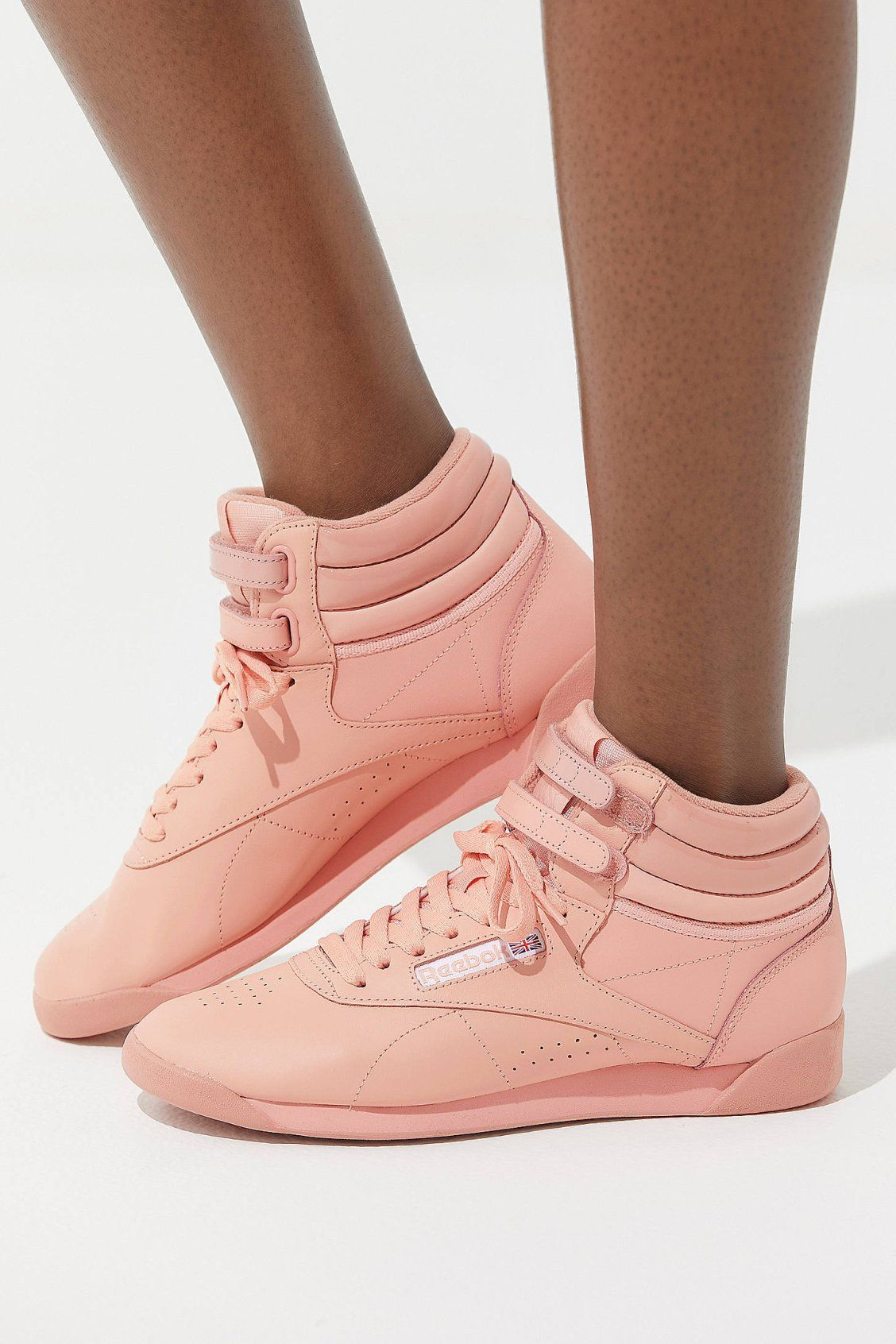 fa4be15bc Reebok X GLOW Freestyle Hi Monochrome Sneaker in 2019 | Shoes Shoes ...