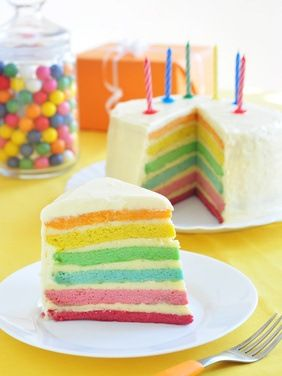Make your own food coloring! rainbow cake, rainbow cookies ...