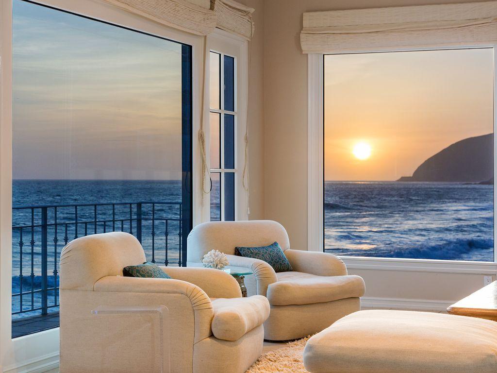 Custom Malibu Beach House On 60ft Of Beach VRBO
