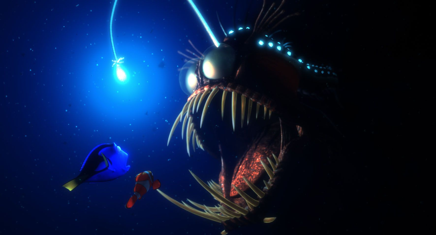 Finding nemo disney pixar movies pinterest finding for Finding nemo angler fish