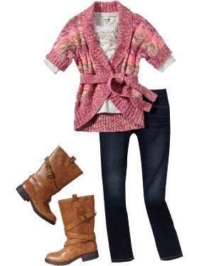 de9073923 Girls Clothes: Jean Outfits | Old Navy | The teen and her sister ...