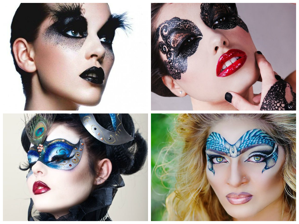Hunger Games Capitolian make-up. Zina by Tammy Tanuka (с