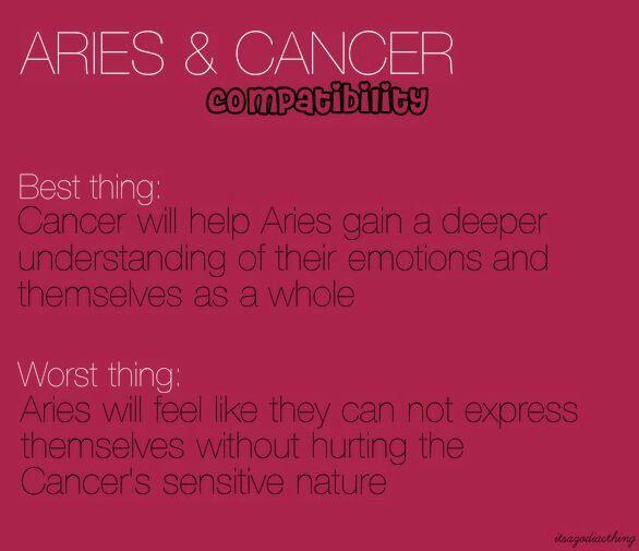 Pin by Adice Colón on Cancerians | Zodiac | Aries cancer