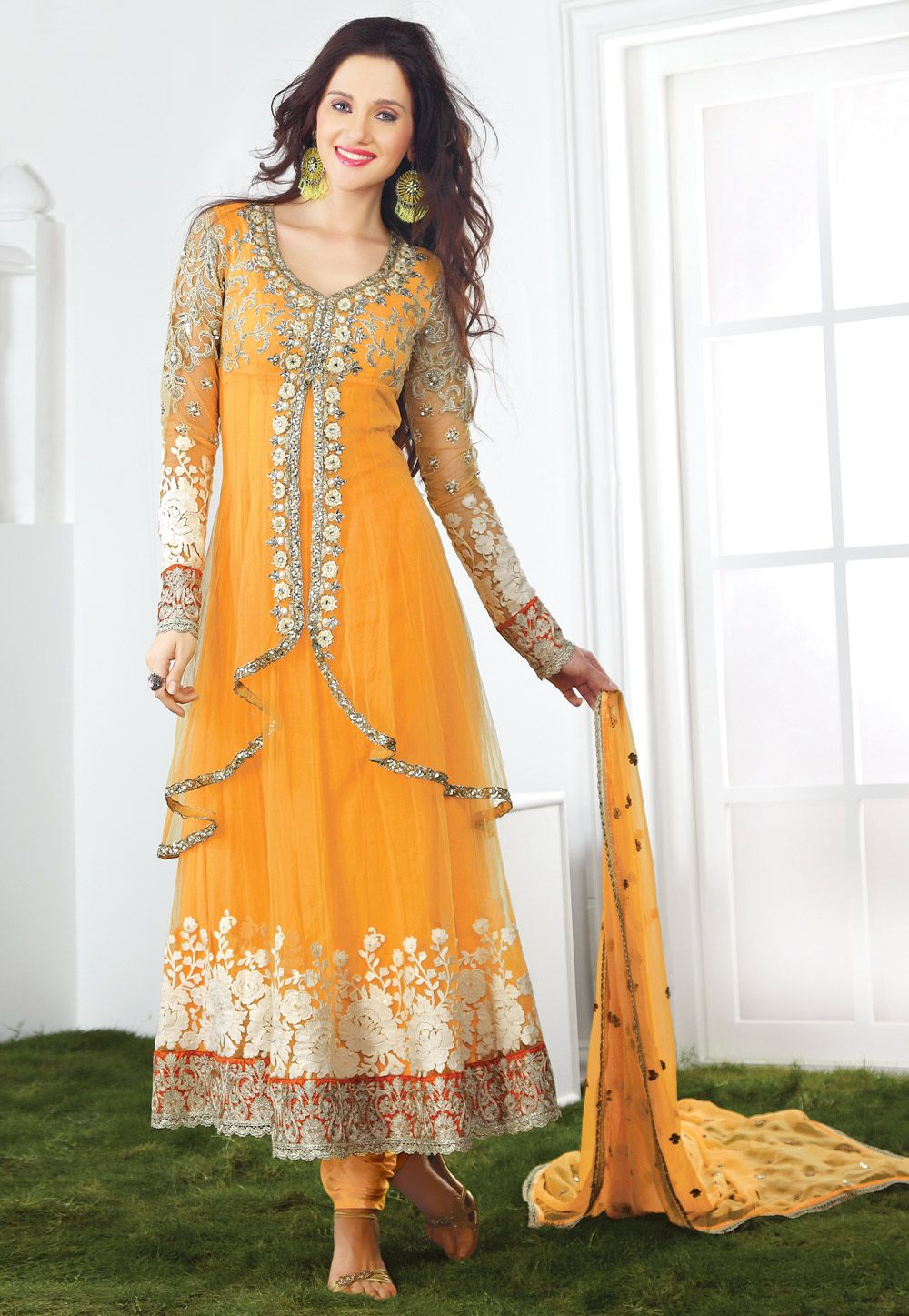 Designer salwar kameez mesmeric peach color net designer suit - Find This Pin And More On Best Selling Salwar Kameez Shop Latest Anarkali Salwar Kameez And Designs