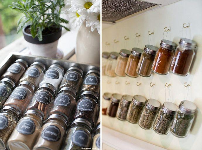 Keuken Diy Opbergen : Inspiratie hoe kruiden opbergen inrichting keuken