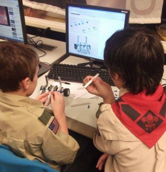 Boy Scout Robotics Merit Badge Milwaukee Wi Kid Events