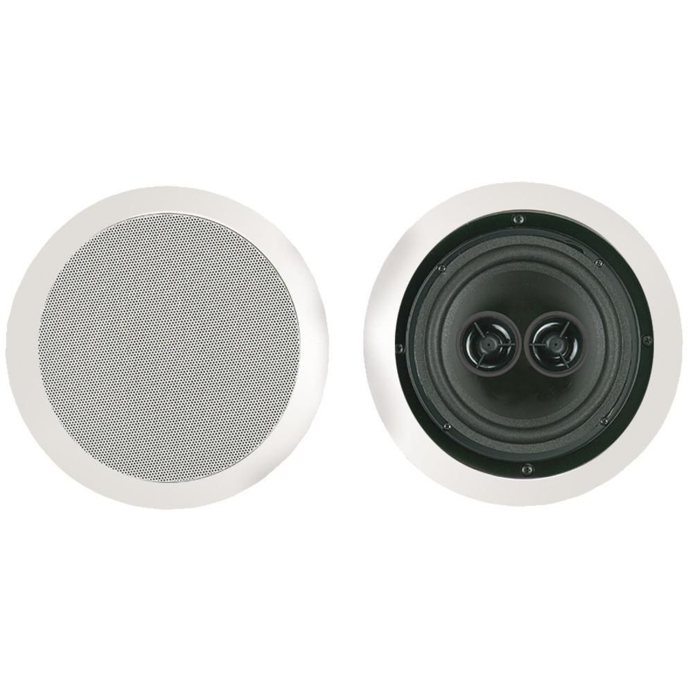 BIC America MSR6D 6.5 Muro Dual Voice-Coil Stereo Ceiling Speaker ...