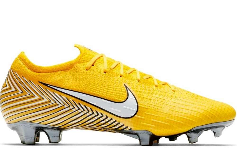 neymar yellow football boots
