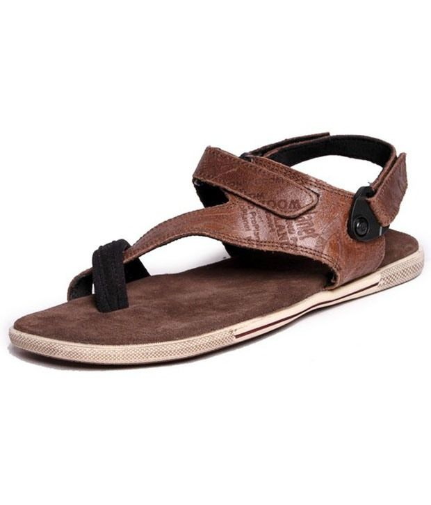Woodland - Brown Casual Sandals For Men