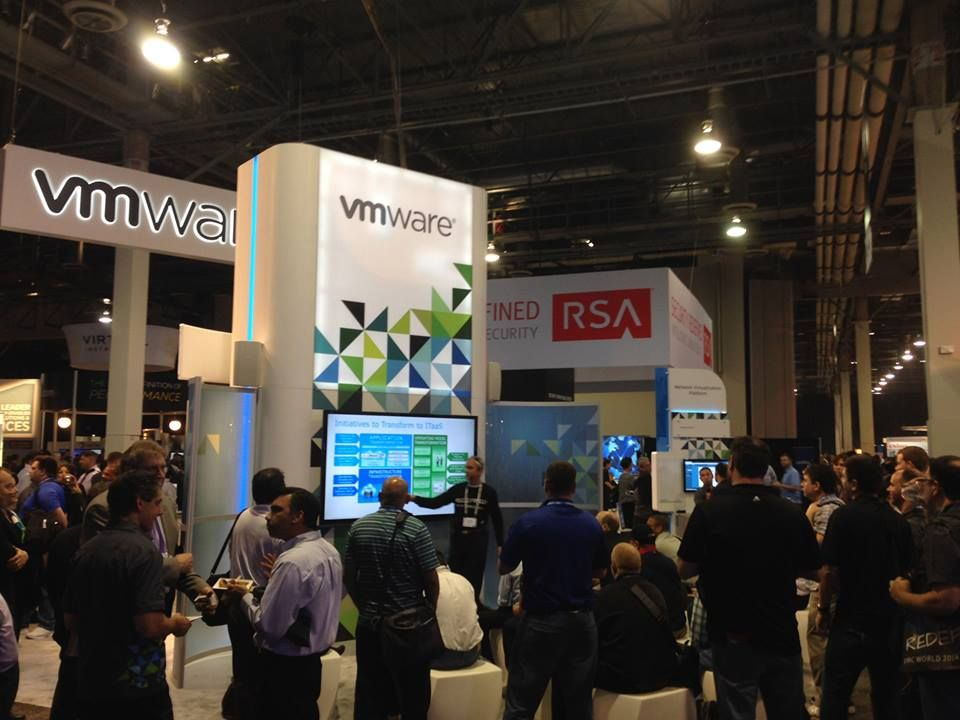 VMware Booth at EMC World 2014