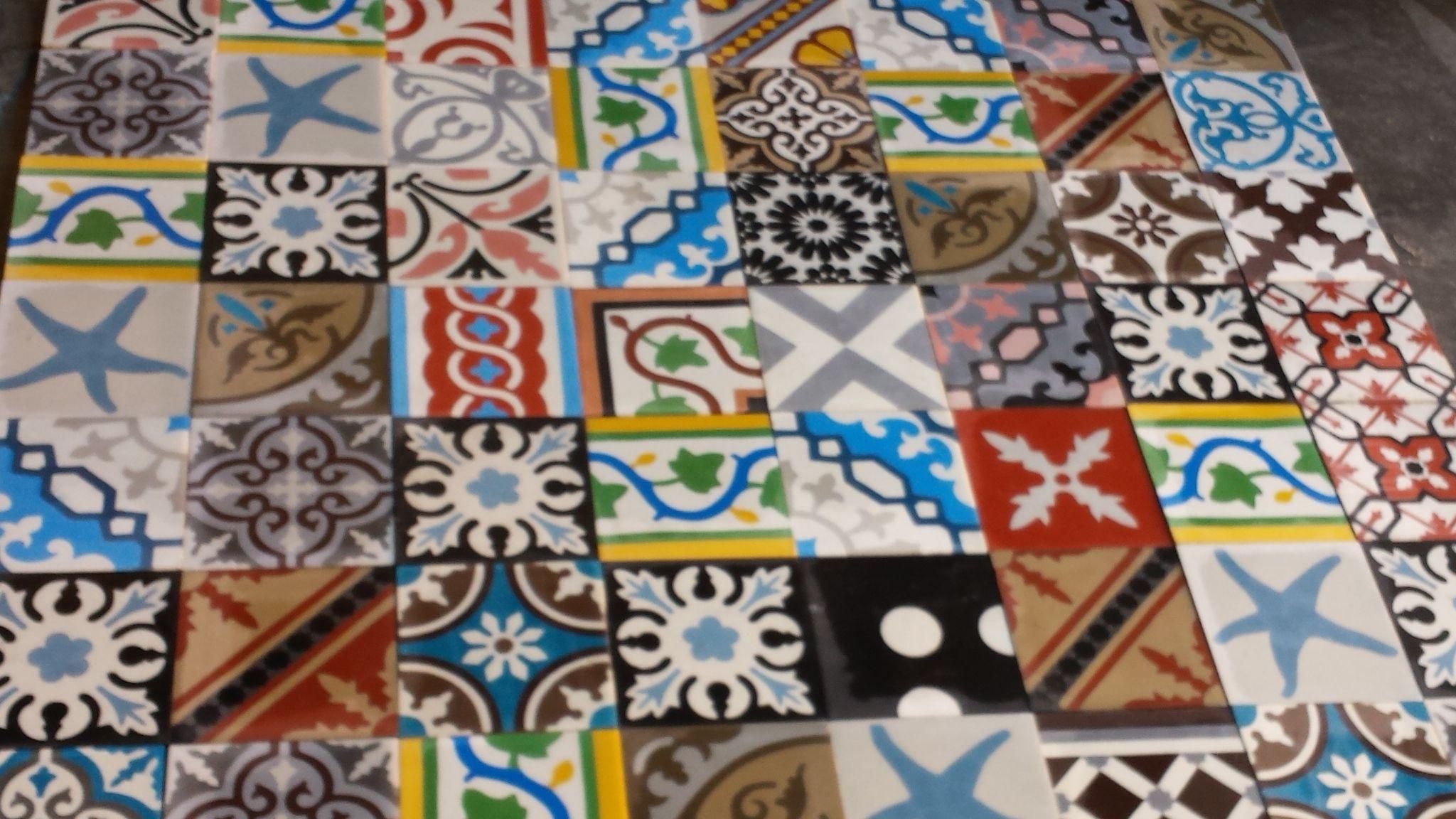 Encaustic Moroccan Cement Tiles