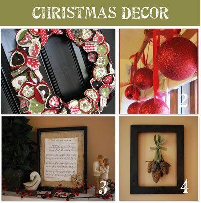 Homemade Christmas Decorations Christmas Ideas Pinterest