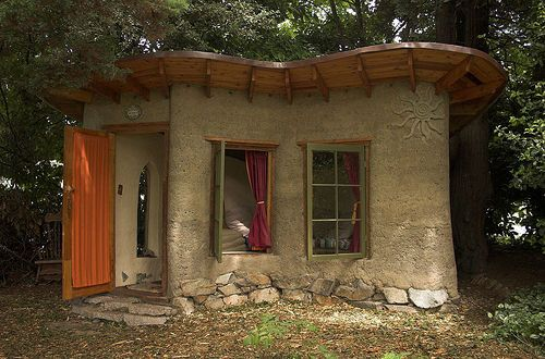 A Tiny Cob Cottage