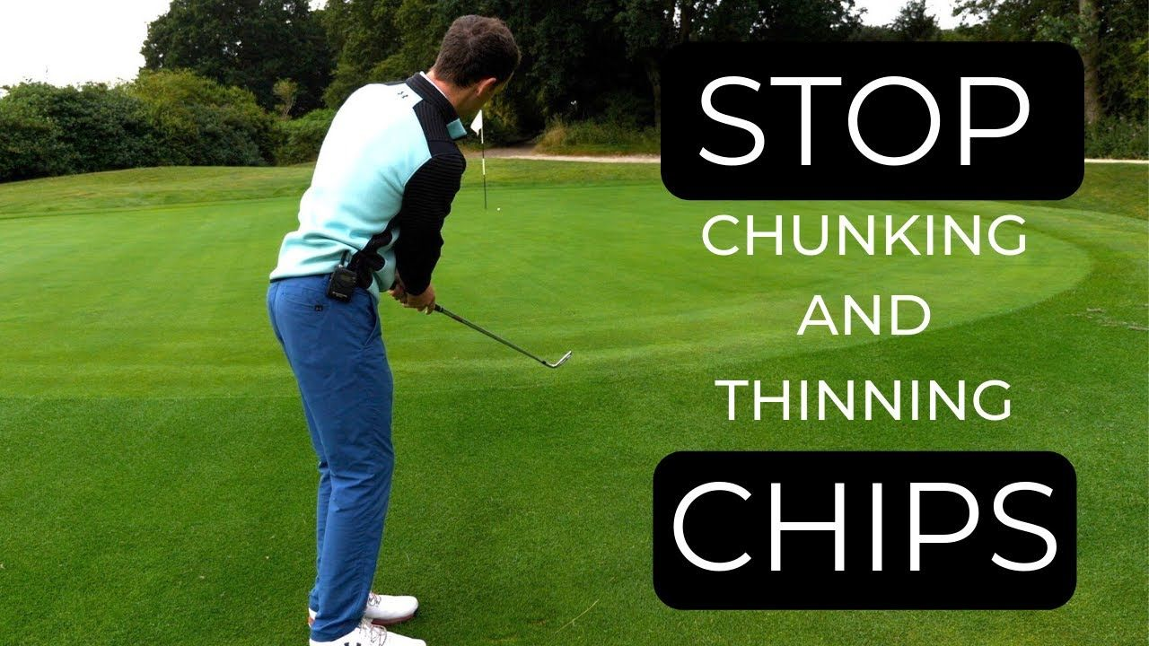 HOW TO HIT CHIP SHOTS AROUND THE GREEN EASY TECHNIQUE