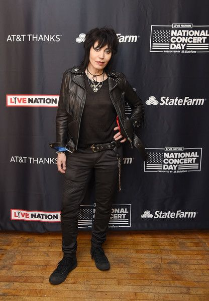 Joan Jett Photos Photos - Musician Joan Jett attends Live Nation's celebration of The 3rd Annual National Concert Day at Irving Plaza on May 1, 2017 in New York City. Live Nation Celebrates The 3rd Annual National Concert Day