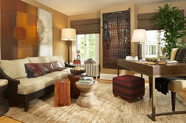 african style living room design. African Inspired Interior Design Ideas  Africans Stools and Interiors