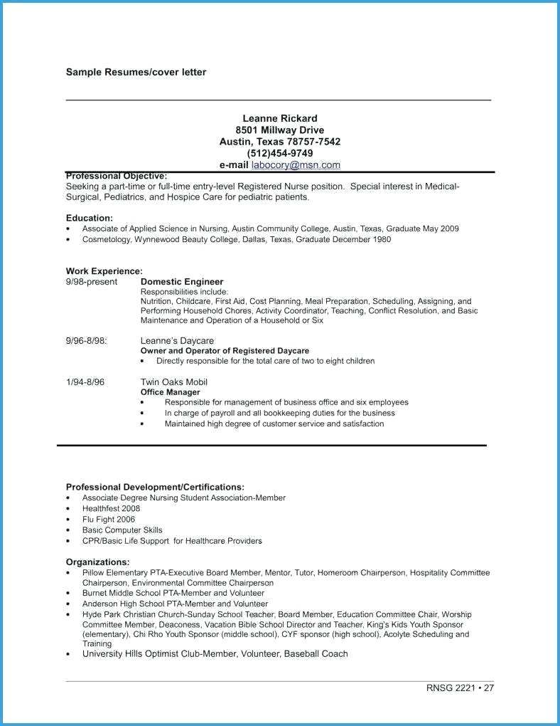 Sample Resume For Community College Teaching Position Lovely Free Job Application Template Word Document Verypage