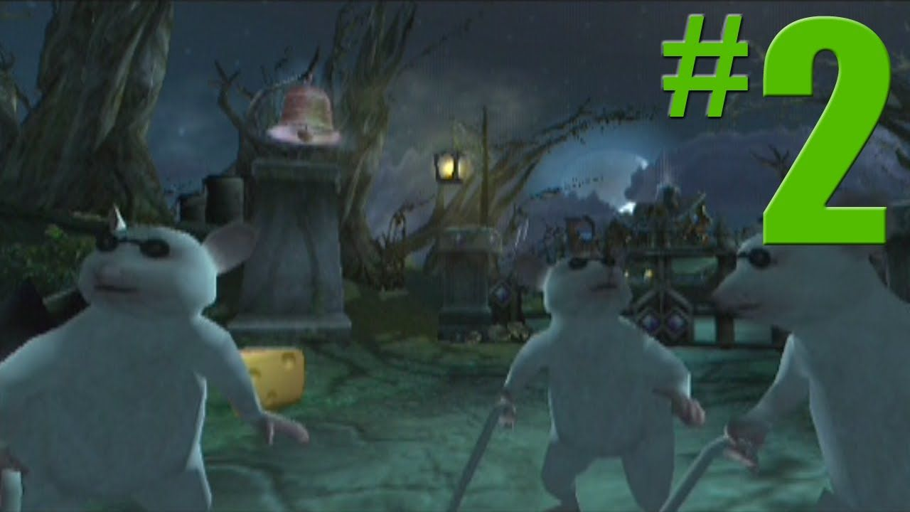 Shrek 2 Game Walkthrough Part 2 Spooky Forest No Commentary Gameplay Gamecube Xbox Ps2 Shrek Gamecube Spooky