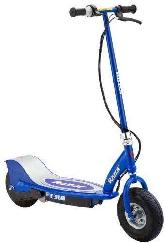 razor e300 electric scooter blue sports. Black Bedroom Furniture Sets. Home Design Ideas