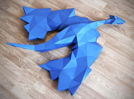 Dragon Papercraft Got Papercraft Gifts For Kids Gifts For