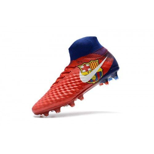 5c2c9513bd Nike Magista - Chuteira Comprar Nike Magista Obra II FG Homens Vermelho  Azul Online