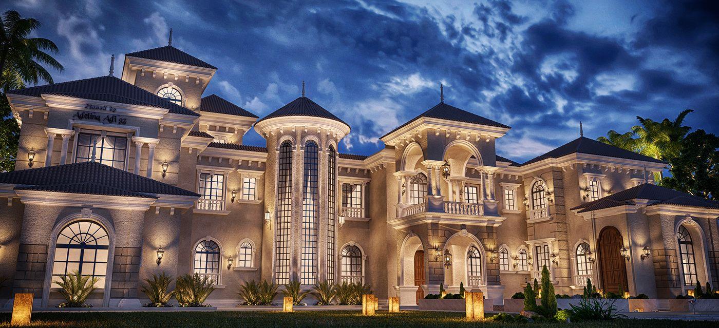 villa_7.jpg (1400×639)   Luxury homes dream houses, Dream ...