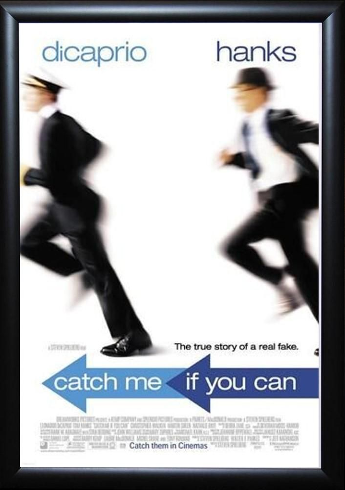 Catch Me If You Can Signed Movie Poster Peliculas Peliculas Cine Posters Peliculas