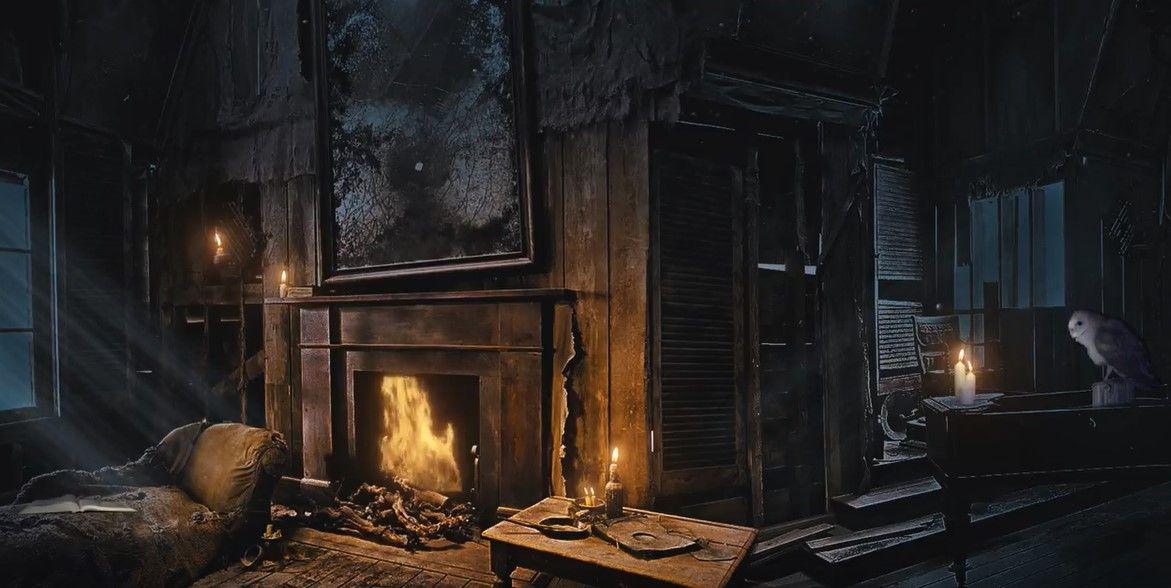 Shrieking Shack Decor Fireplace Home Decor