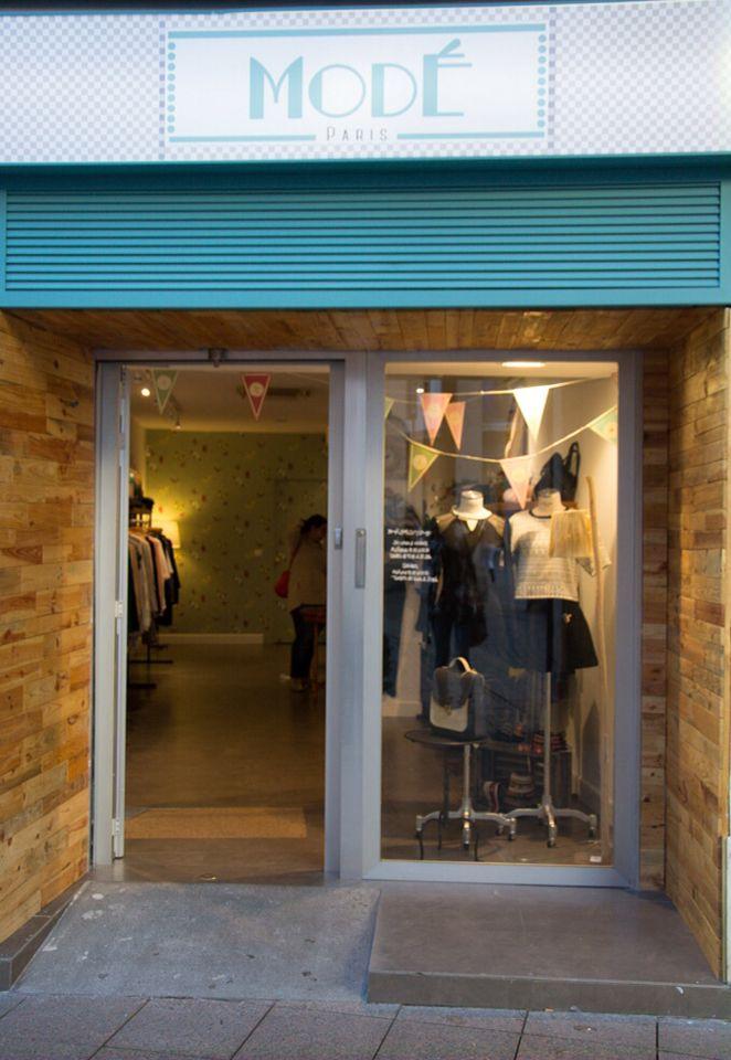 Revestimiento de fachada en local comercial retail - Revestimientos de fachadas ...