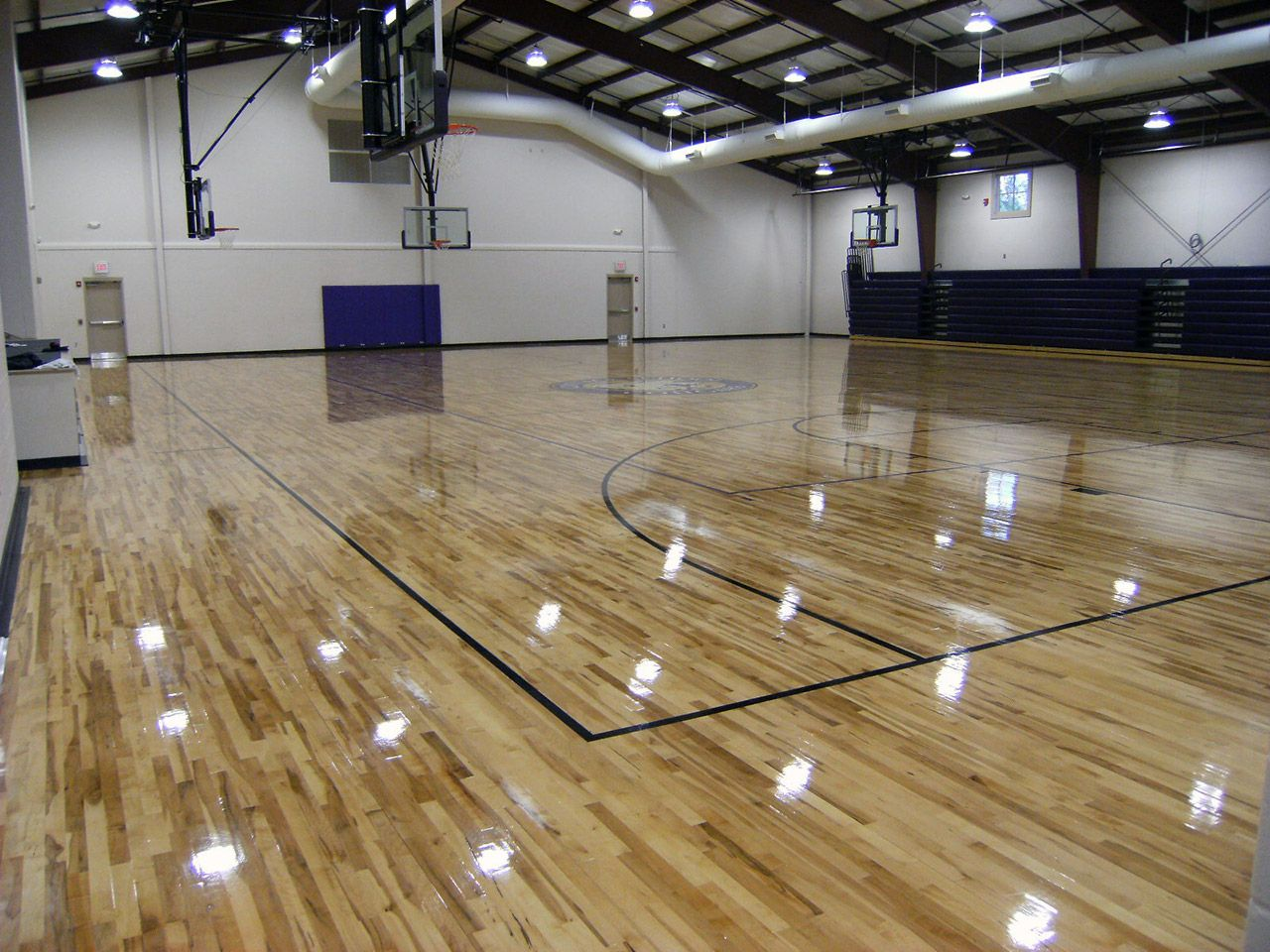 Gymnasium flooring by all sport america basketball court for Indoor basketball court plans