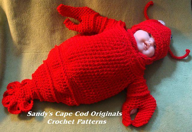 189 Cappy The Lobstah Bunting pattern by Sandy Powers   Bebe, Bebé y ...