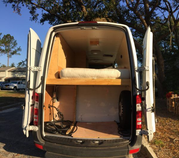 Sprinter Rv For Sale >> Amy S Awesome Converted Sprinter Rv For Sale Vans