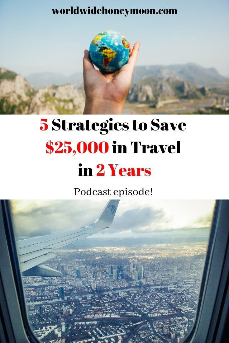 Who doesn't want to travel more and save money, right? In the last 2 years, we've been able to save over $25,000 in travel expenses and have turned miles into memories thanks to travel hacking. Learn all about our top 5 strategies to save $25,000 in 2 years on travel on this week's podcast episode!  #podcaster #travelpodcast #milesandpoints #avgeek #travelhack #travelhacking #honeymoon #couplestravel #savemoney #travelmore #milesandmiles #coupleswhotravel #traveltheworld