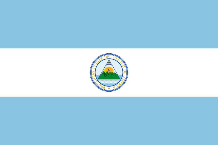 The Federal Republic Of Central America Originally Known As Known As The United Provinces Of Central America Was Created In 1 Guatemala Flag Flag Flag Colors