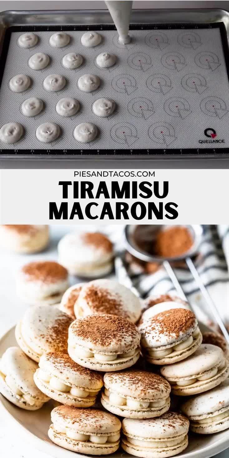 Photo of Tiramisu Macarons