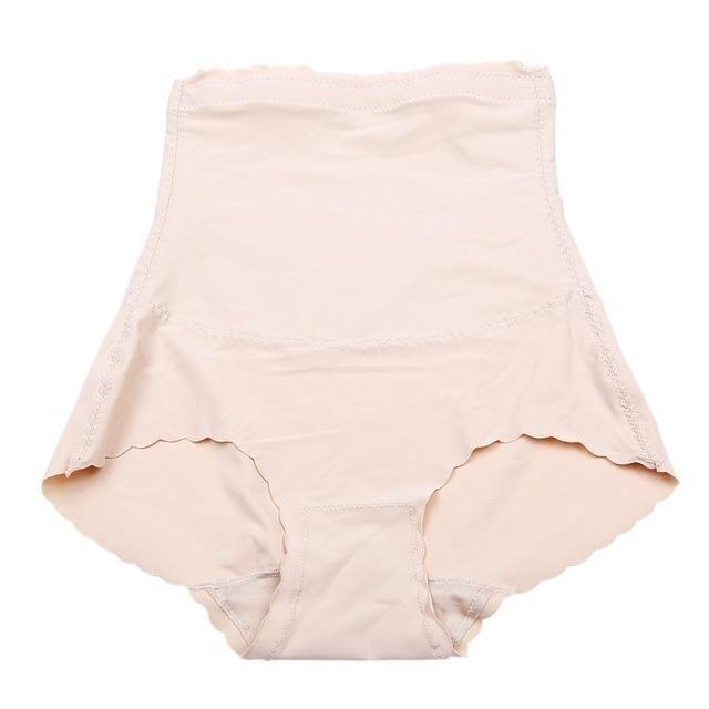 4fc6680c2e1f9 2018 Corset Hip Seamless Shapers Body Underwear Sexy Women Pregnant  Postpartum Abdomen Sculpting Underpants 2 Colors