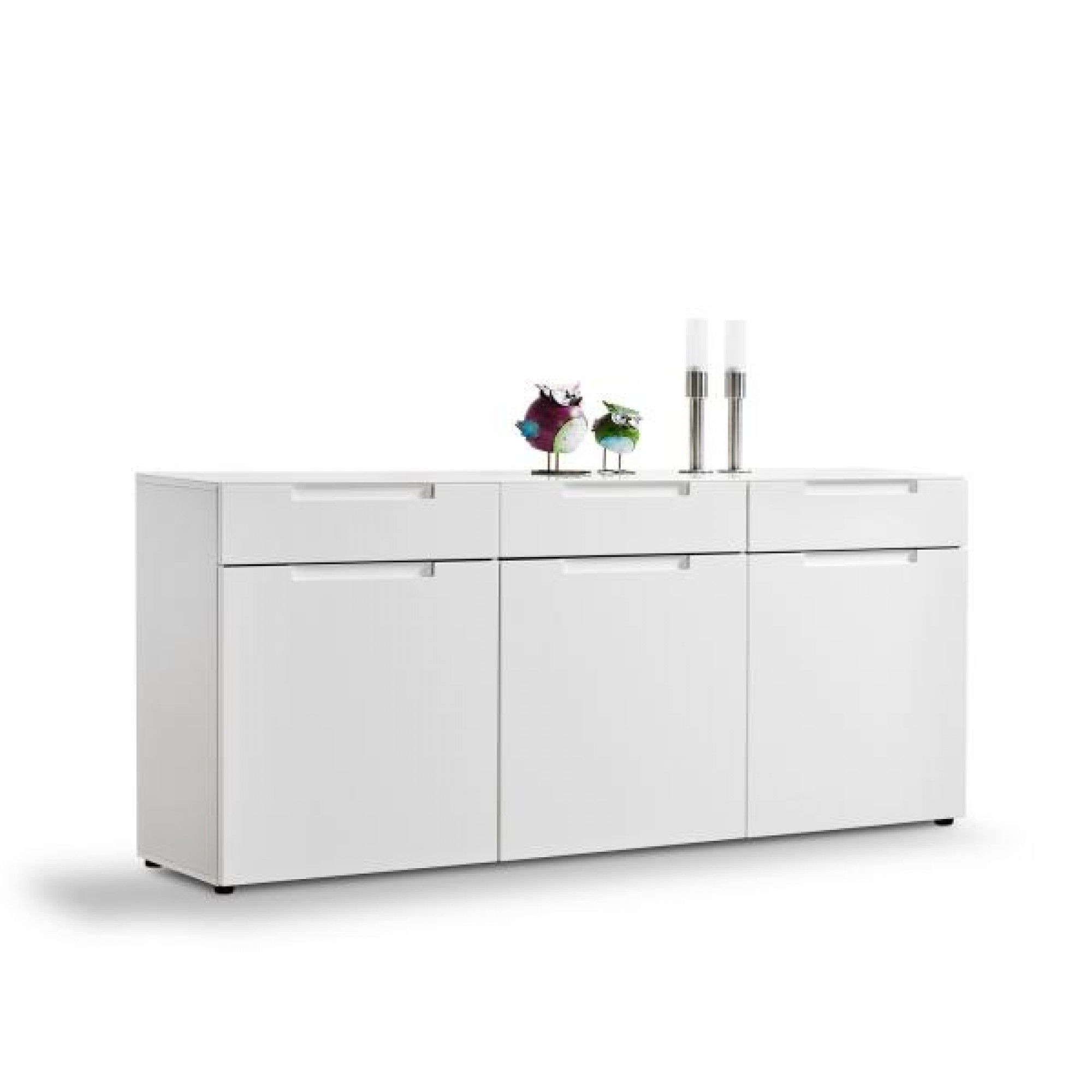 Sideboard Mailand Weiss Hochglanz Ca 192 X 83 Cm Hochglanz