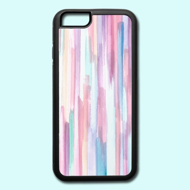 wow hema | Colorful abstract - iPhone and Samsung Galaxy - iPhone 66s Rubber Case