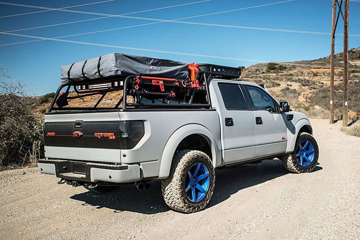 Ford Raptor Camper Rear 2 4x4s And Other Trucks And