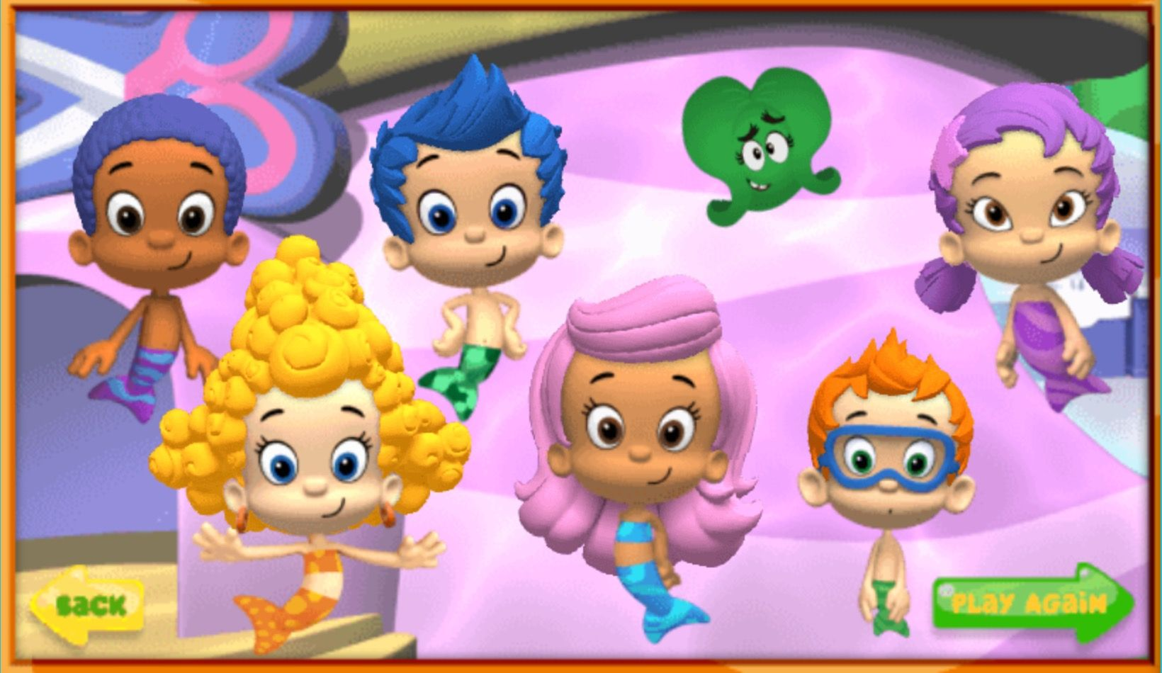 The Six Guppies Got Lots Of Hair Style To Be SuperHairoes. | Bubble ...