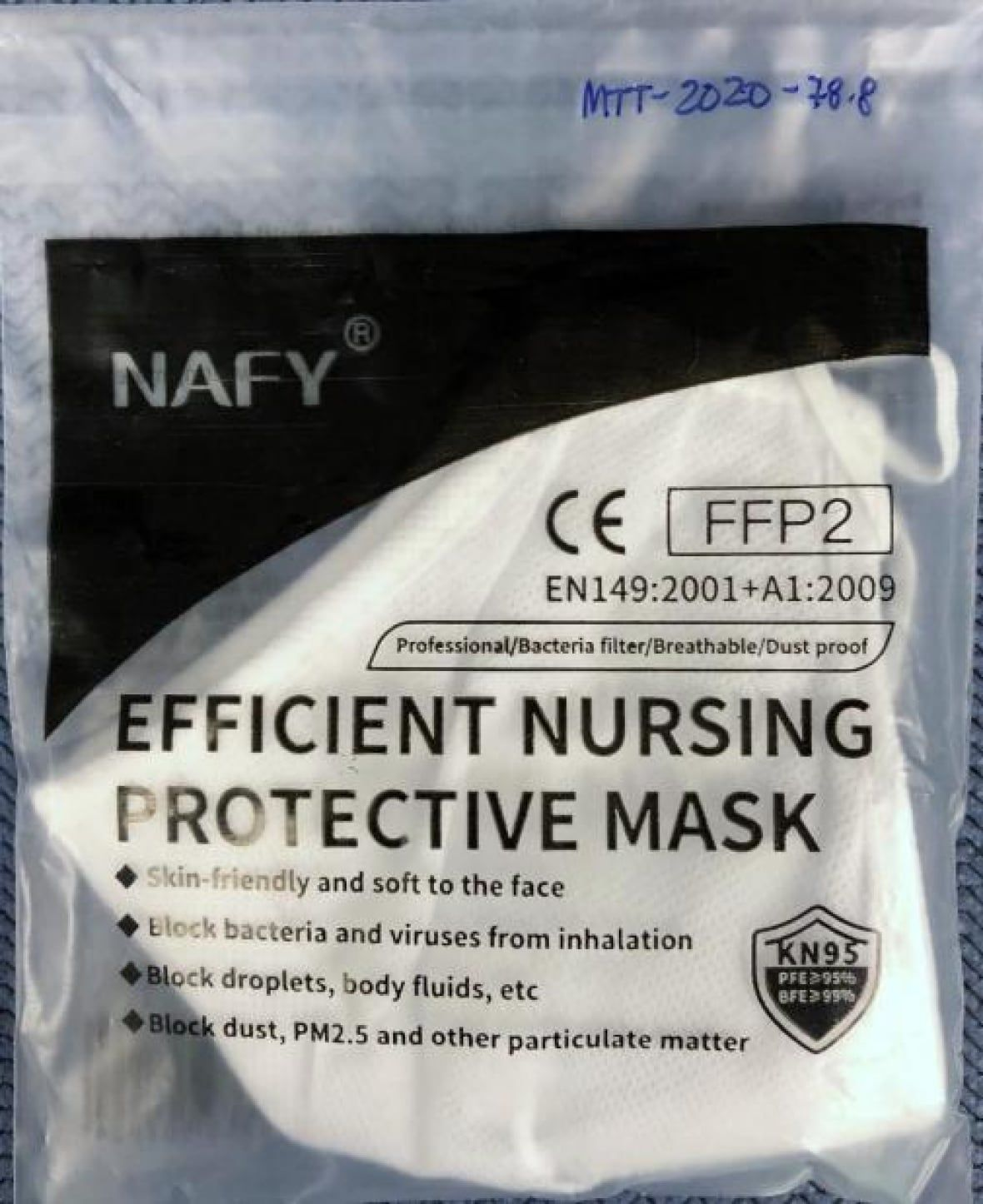 Health Canada issues recall of some KN95 masks made in