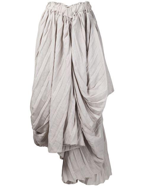Yohji Yamamoto Pleated Skirt - - Farfetch.com | Fashion ...