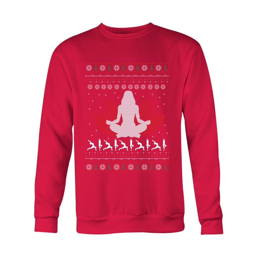 Yoga Holiday Sweatshirt
