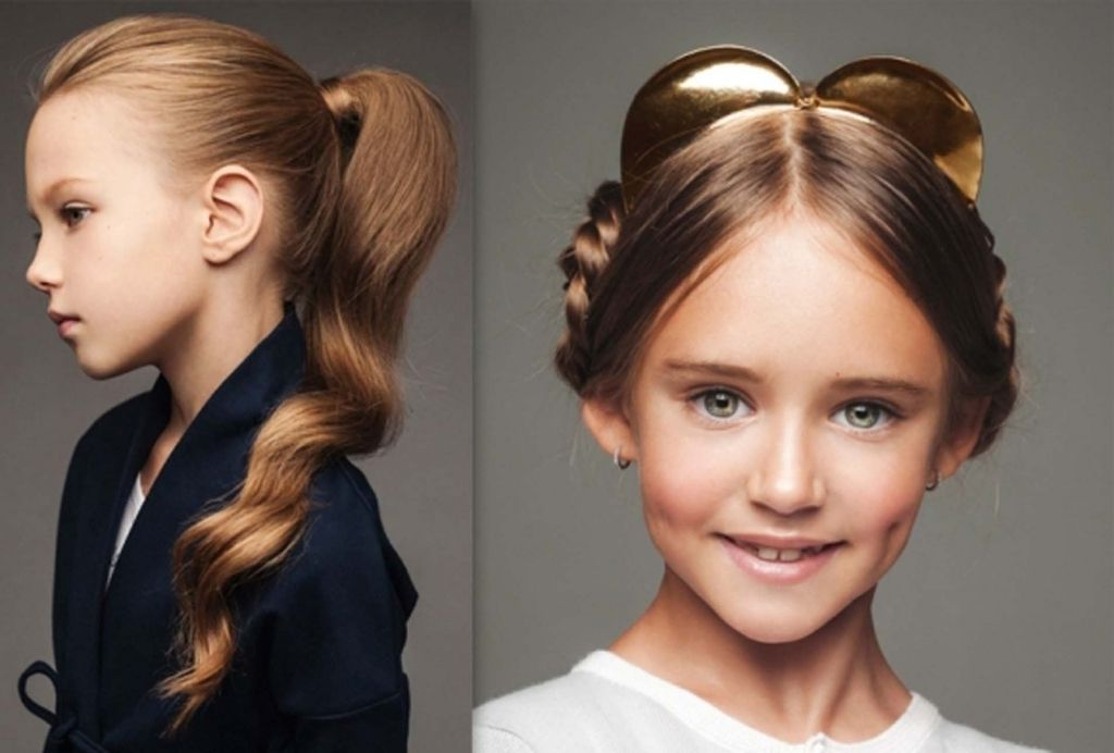 Cute Girl Hairstyles For School | cute hairstyles for kids ...