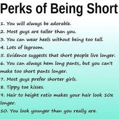 benefits of dating short guys
