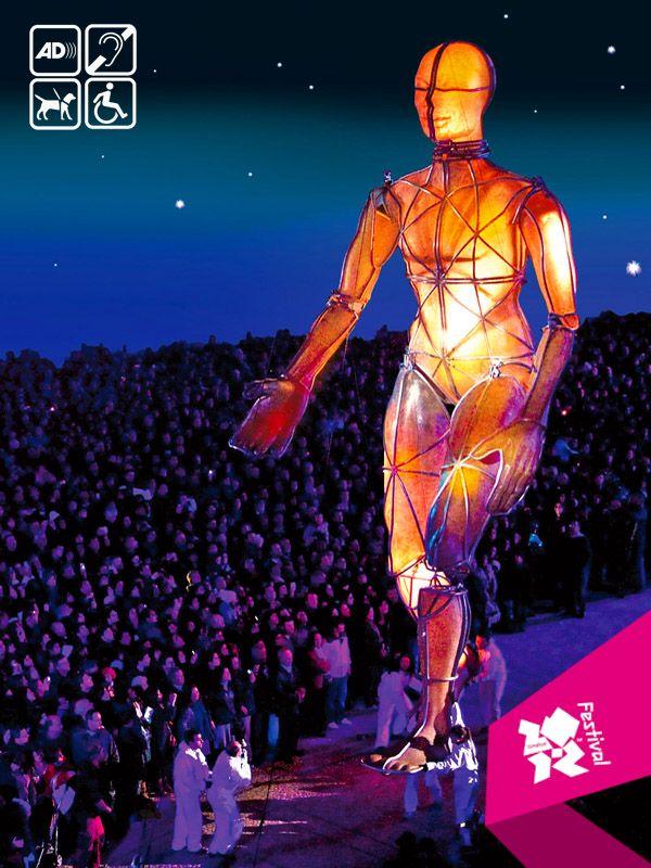 Prometheus Awakes Created By Graeae Theatre Company And La Fura Dels Baus Performance Art Graeae Theatre Company
