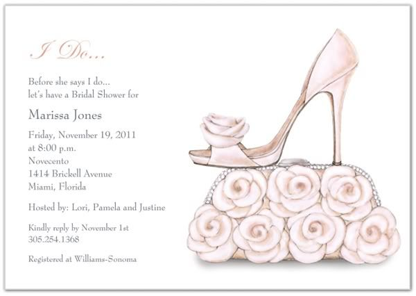 Cute bridal shower invite wedding pinterest bridal showers shoe and purse bridal shower invitations shoe and purse features a hand drawn watercolor design of two beautiful matching wedding ensemble pieces wi filmwisefo